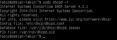 Servidor DHCP no Linux