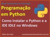 Como instalar o Python no Microsoft Windows