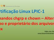 Certificação Linux LPI 1 - Comandos chgrp e chown