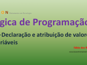 Lógica de Programação - Declaração e Atribuição de Variáveis