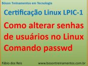 Como alterar senhas de usuários no Linux com o comando passwd