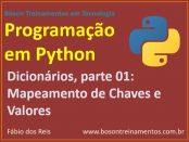 Mapear chaves e valores em dicionários no Python