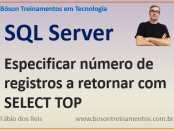 Especificando registros com SELECT TOP no SQL Server