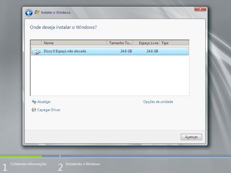 Particionar e Formatar disco no Windows Server 2008 R2