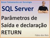 Parâmetros de saída e declaração return em SQL Server