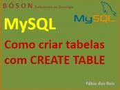 Criar tabelas em MySQL com CREATE TABLE Mysql