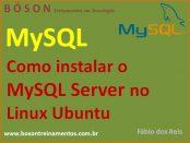 Como instalar o MySQL Server no Linux Ubuntu