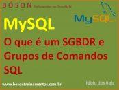 SGBDR e grupos de comandos SQL no MySQL