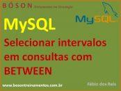 Cláusula BETWEEN em MySQL