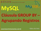 Cláusula GROUP BY em MySQL