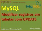modificar registros em tabelas com update em mysql
