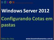 Configurar Cotas em Pastas no Windows Server 2012