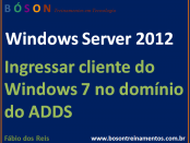Ingressar cliente do windows 7 no domínio do active directory