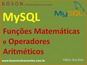 Operadores Aritméticos e Funções Matemáticas em MySQL