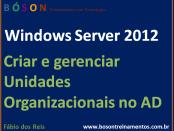 Criar e Gerenciar Unidades Organizacionais no Active Directory