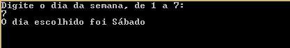 Condicional Aninhado em C#