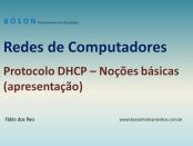 Redes de Computadores - Protocolo DHCP