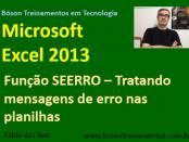 Função SEERRO no Microsoft Excel 2013