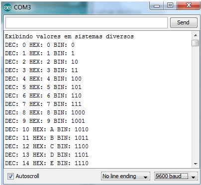Acessando Monitor Serial com Arduino