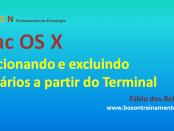 Mac OS X - Adicionar usuários a partir do terminal