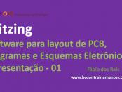 Fritzing - Layout de PCB