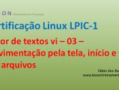 Editor de textos vi no Linux 03