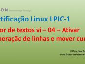 Editor de textos vi no Linux - 04
