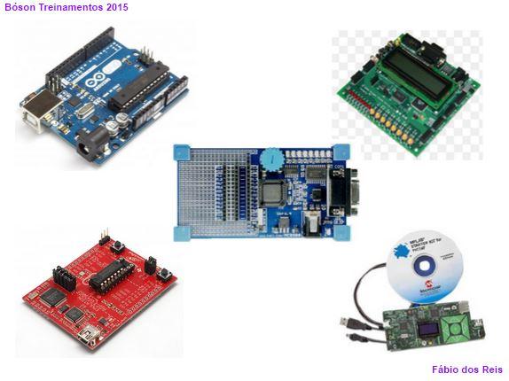 Placas para estudo de microcontroladores, com Arduino