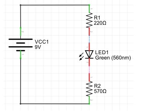 Visualização do circuito no Fritzing