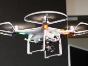 Drone de segurança da Alsok