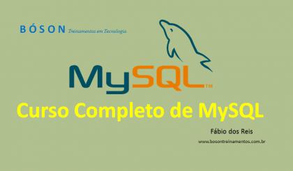 Curso completo de MySQL Bancos de Dados