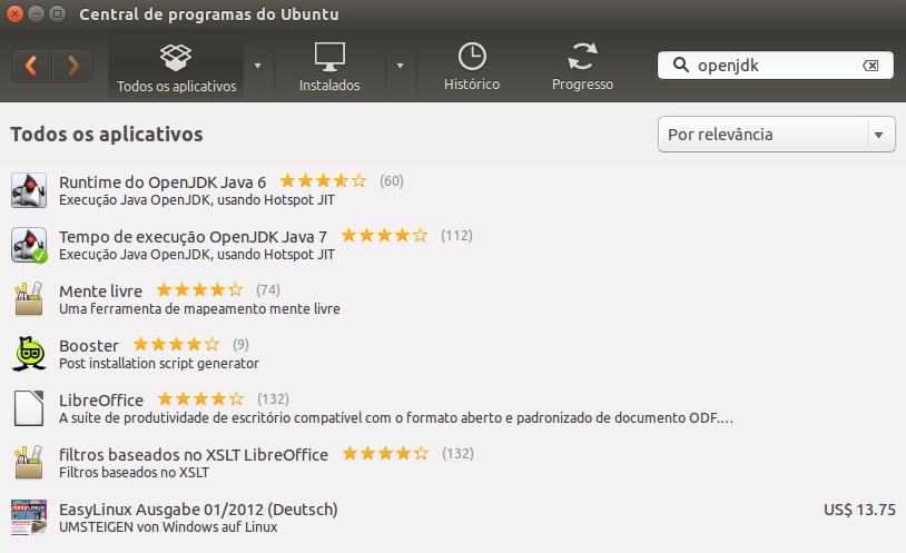 Instalar OpenJDK no Ubuntu