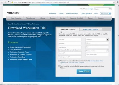 VMware Workstation 9 Download