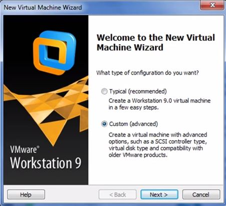 VMware Workstation 9 - Criando Máquina Virtual