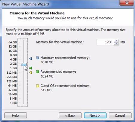 VMware Workstation 9 - Configurando memória RAM