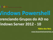 Windows PowerShell Gerenciamento de Grupos do Active Directory
