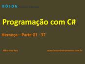 Programação em C# - Orientação a Objetos - Herança