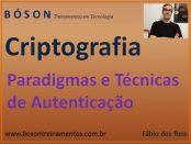 Paradigmas e técnicas de autenticação em criptografia