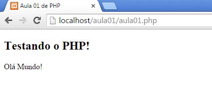Curso de PHP - Sintaxe e Marcadores de Comandos