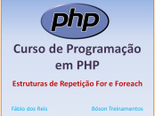 Curso de PHP com MySQL - Laços For e Foreach