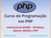 Curso de PHP com MySQL - Instalar WAMP