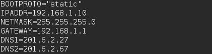 Fedora 22 - Configurar IP fixo