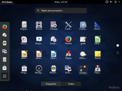 Fedora 22 - Instalar 27 - GNOME