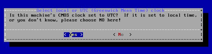 FreeBSD - Configura CMOS e UTC