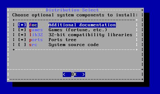 FreeBSD - Componentes adicionais