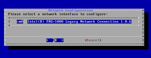 FreeBSD - Configurar Rede