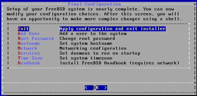FreeBSD - Finalizar Instalação no Virtualbox