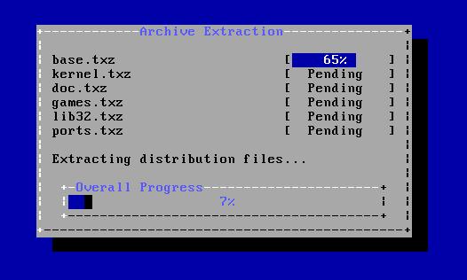 FreeBSD - Instalar Sistema