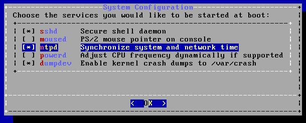 FreeBSD - Configurar ntpd