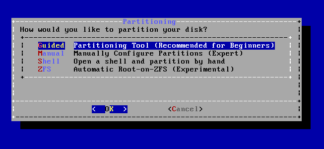 FreeBSD - Particionar Disco Rígido (HD)